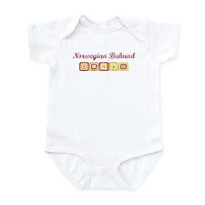 Norwegian Buhund (vintage col Infant Bodysuit