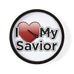 Love Savior Wall Clock