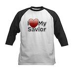 Love Savior Kids Baseball Jersey