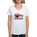 Love Savior Women's V-Neck T-Shirt