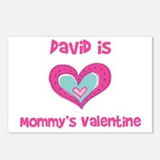 David is Mommy's Valentine  Postcards (Package of