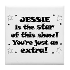 Jessie is the Star Tile Coaster