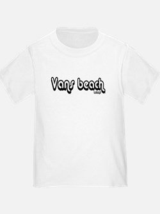 Van's Beach Psenka Design Cla T