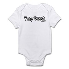 Van's Beach Psenka Design Cla Infant Bodysuit