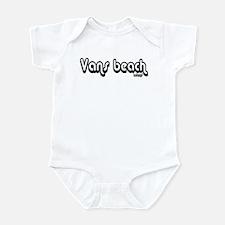 Van's Beach Psenka Design Cla Infant Bodysuit