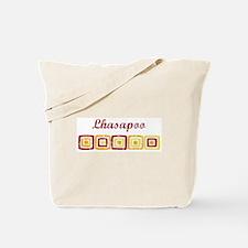 Lhasapoo (vintage colors) Tote Bag