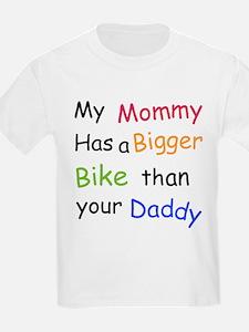 Mommy bigger bike T-Shirt
