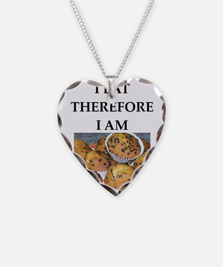 Funny breakfast joke Necklace