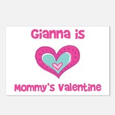 Gianna is Mommy's Valentine Postcards (Package of