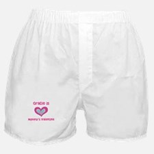 Gracie is Mommy's Valentine Boxer Shorts