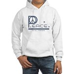 Peace to all Mankind Hooded Sweatshirt