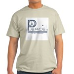 Peace to all Mankind Ash Grey T-Shirt