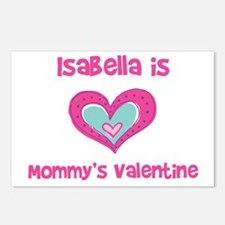 Isabella is Mommy's Valentine Postcards (Package o