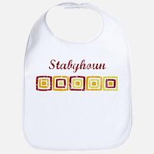 Stabyhoun (vintage colors) Bib