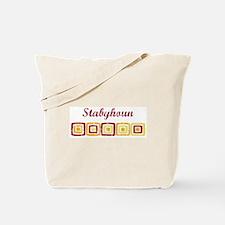 Stabyhoun (vintage colors) Tote Bag