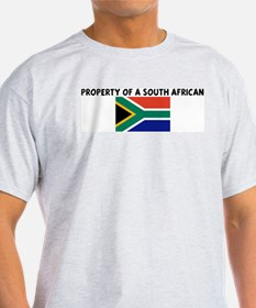 PROPERTY OF A SOUTH AFRICAN T-Shirt