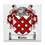 Blake Family Crest Tile Coaster