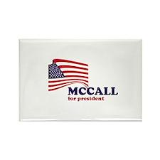 James H. McCall for president Rectangle Magnet