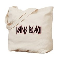 Vans Beach- Vintage 80's Rock Tote Bag