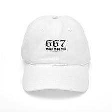 667 More Than Evil Baseball Cap
