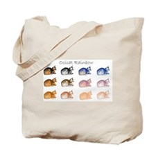 Ocicat Rainbow Tote Bag