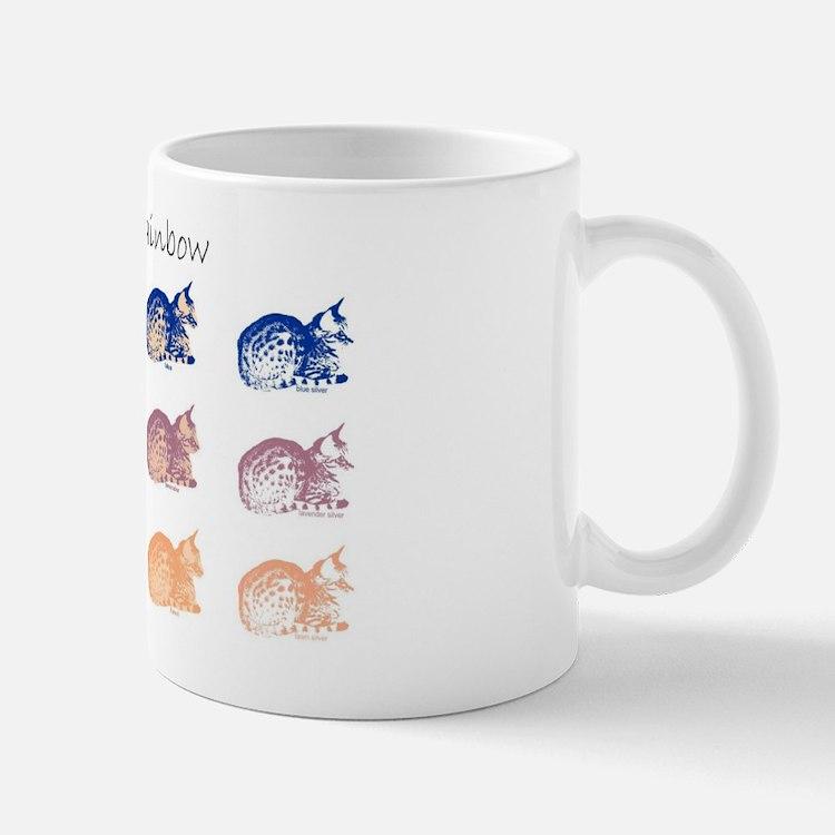 Ocicat Rainbow Mug