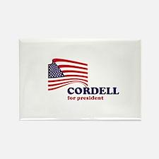 Don Cordell for president Rectangle Magnet