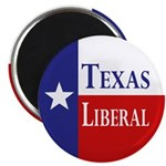Texas Liberal (Refrigerator Magnet)