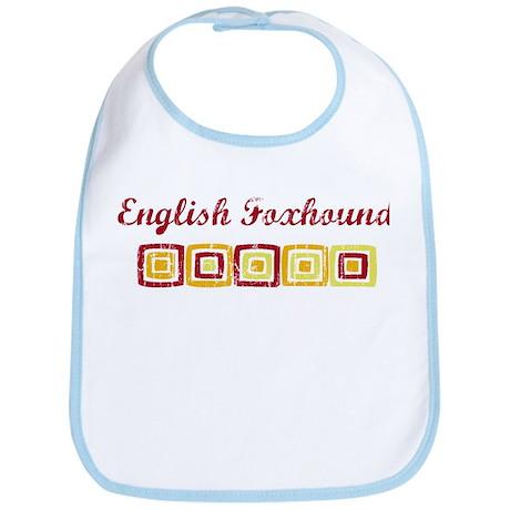 English Foxhound (vintage col Bib