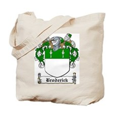 Broderick Family Crest Tote Bag