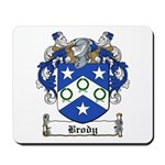Brody Family Crest Mousepad