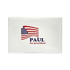 Ron Paul for president Rectangle Magnet
