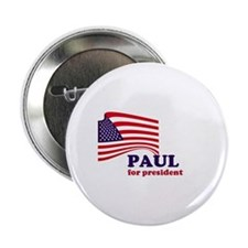 "Ron Paul for president 2.25"" Button"