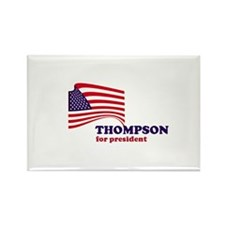 Fred Thompson for president Rectangle Magnet