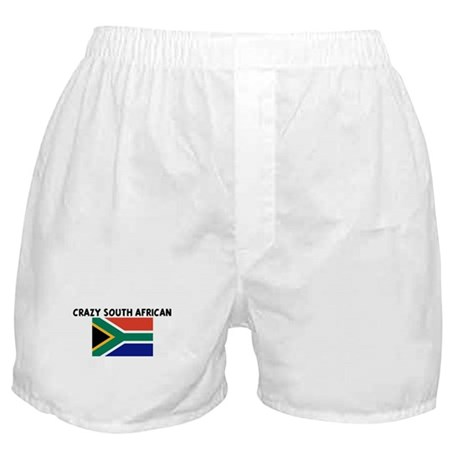CRAZY SOUTH AFRICAN Boxer Shorts