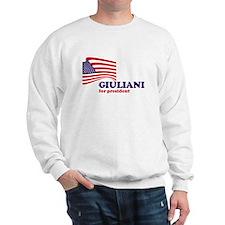 Rudy Giuliani for president Sweatshirt
