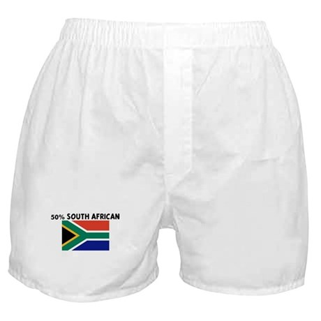50 PERCENT SOUTH AFRICAN Boxer Shorts