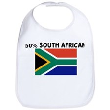 50 PERCENT SOUTH AFRICAN Bib