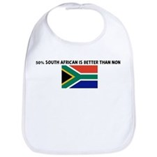 50 PERCENT SOUTH AFRICAN IS B Bib