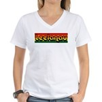 Leelanau Women's V-Neck T-Shirt