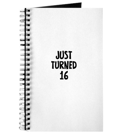 Just Turned 16 Journal