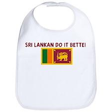 SRI LANKAN DO IT BETTER Bib