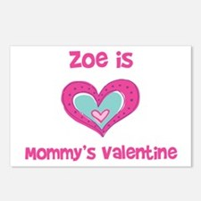 Zoe is Mommy's Valentine Postcards (Package of 8)