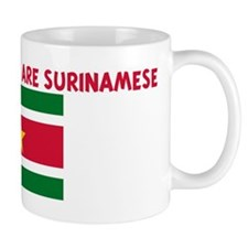 THE CUTEST GIRLS ARE SURINAME Coffee Mug