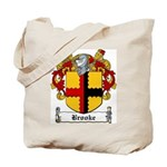 Brooke Family Crest Tote Bag