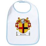 Brooke Family Crest Bib