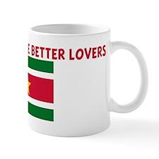 SURINAMESE MAKE BETTER LOVERS Mug