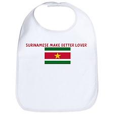 SURINAMESE MAKE BETTER LOVERS Bib