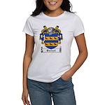 Burdett Family Crest Women's T-Shirt