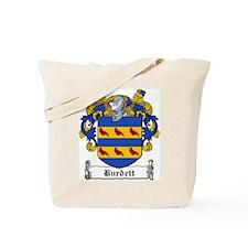 Burdett Family Crest Tote Bag